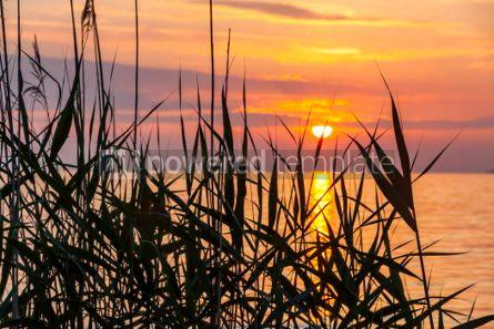 Nature: Sunrise over the Balaton lake Hungary #03222