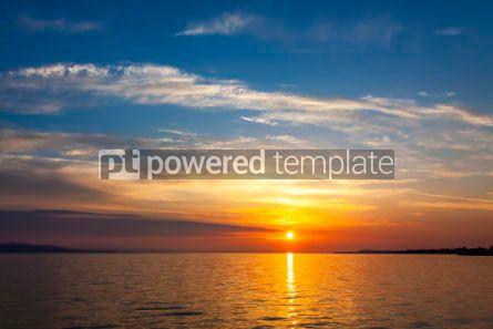 Nature: Sunrise over the Balaton lake Hungary #03223