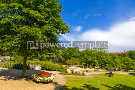 Nature: Planten un Blomen park in Hamburg city Germany #03231