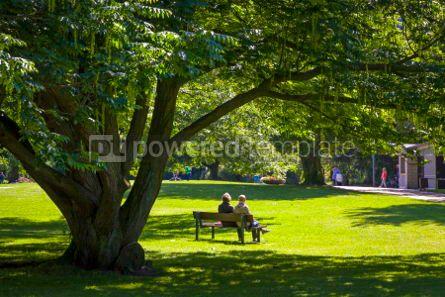 Nature: Planten un Blomen park in Hamburg city Germany #03233