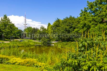 Nature: Planten un Blomen park in Hamburg city Germany #03234