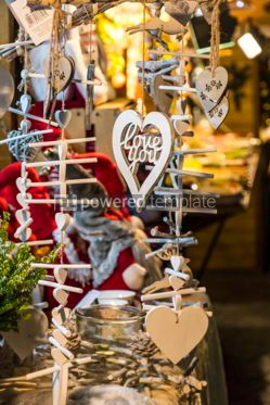 Holidays: Christmas wooden decoration gifts #03319