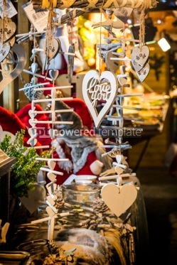 Holidays: Christmas wooden decoration gifts #03320