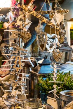 Holidays: Christmas wooden decoration gifts #03321