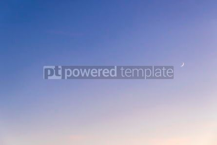 Nature: Gradient blue-yellow background of evening sky #03333