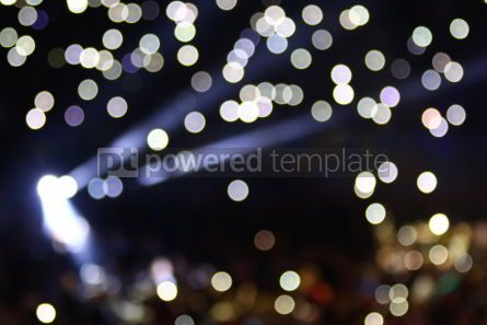 Holidays: Abstract bokeh background #03344