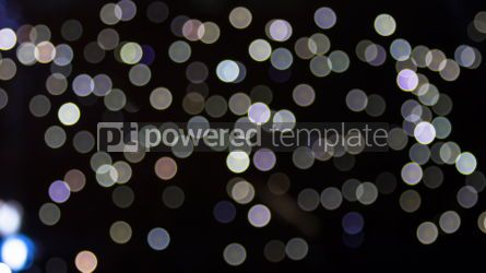 Holidays: Abstract bokeh background #03346