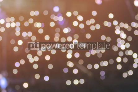 Holidays: Abstract bokeh background (colour cast filter) #03347