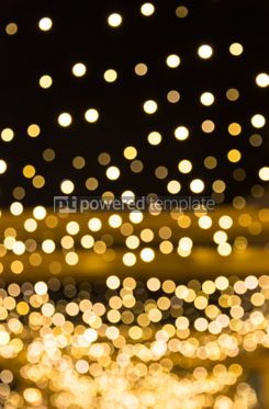 Holidays: Festive bokeh background of Christmaslight #03354