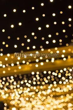 Holidays: Festive bokeh background of Christmaslight #03355