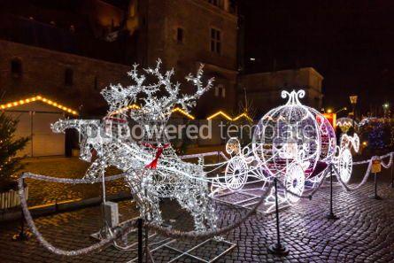 Holidays: Traditional Christmas fair on Targ Weglowy in Gdansk Poland #03361