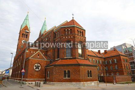 Architecture: Franciscan church in Maribor Slovenia #03382