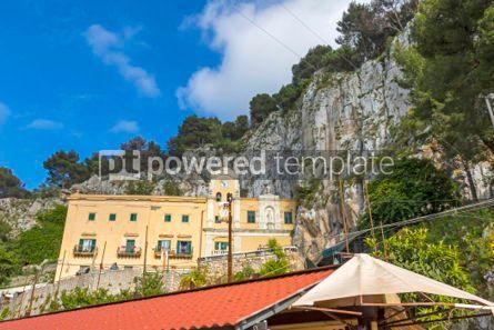 Architecture : Sanctuary of Santa Rosalia  in Palermo Sicily Italy #03406