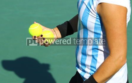 People: Details of Tennis player equipment #03431