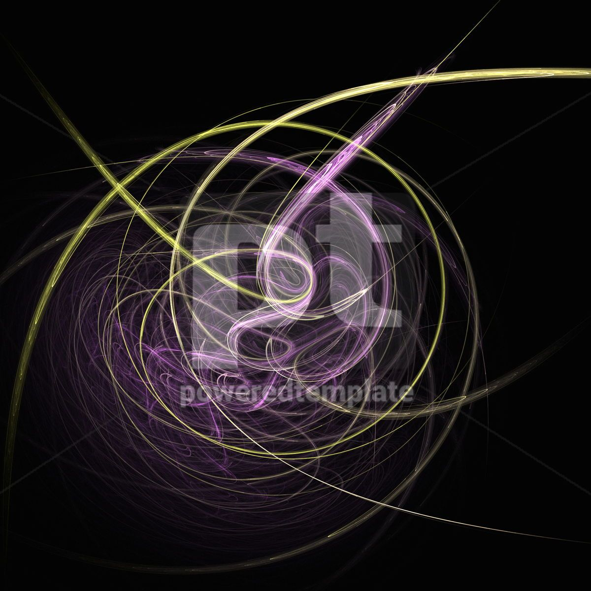 Abstract fractal background, 03482, Abstract — PoweredTemplate.com