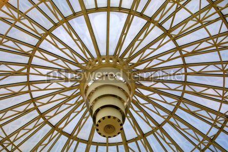 Architecture : Circle glass dome #03489
