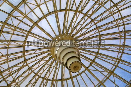 Architecture : Circle glass dome #03490