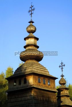 Architecture: Wooden church #03491