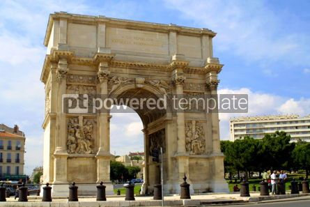 Architecture : Triumphal Arch in Marseille #03530