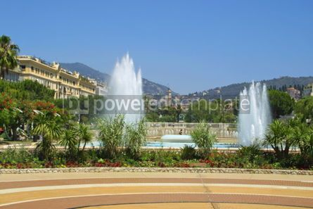 Architecture : Massena Square in City of Nice France #03531