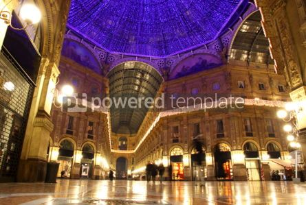 Architecture: Galleria Vittorio Emanuele shopping Center in Milan Italy #03548