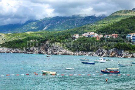 Nature: Adriatic seacoast Przno beach Milocer Montenegro #03579