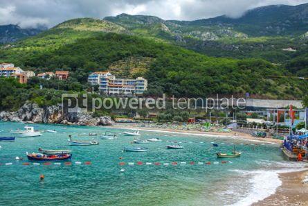 Nature: Adriatic seacoast Przno beach Milocer Montenegro #03580
