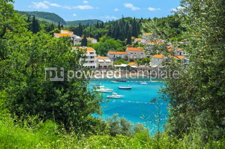 Nature: Adriatic seacoast Przno beach Milocer Montenegro #03588