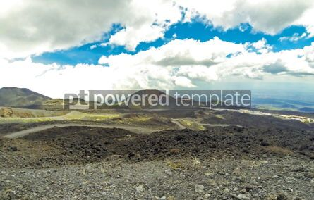 Nature: Picturesque volcanic landscape of Mount Etna Sicily Italy #03625