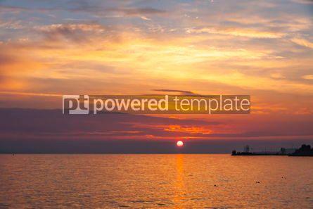 Nature: Sunrise over the Balaton lake Hungary #03630