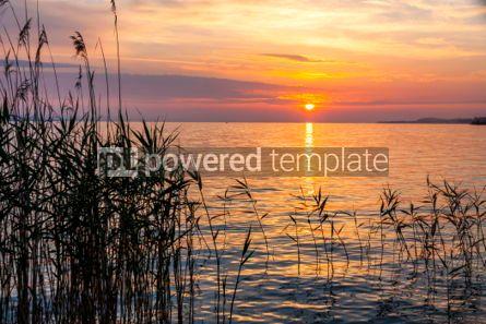 Nature: Sunrise over the Balaton lake Hungary #03632