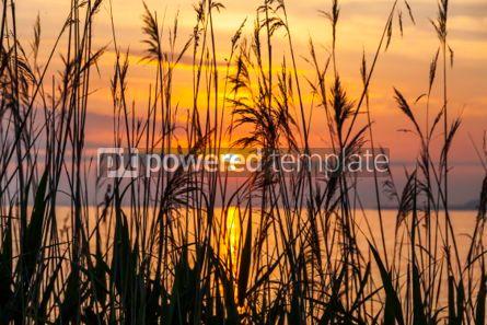 Nature: Sunrise over the Balaton lake Hungary #03633