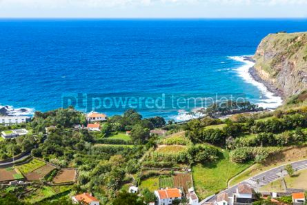 Nature: Picturesque natural view of Sao Miguel island Azores Portugal #03642