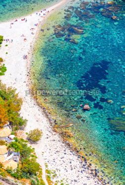Nature: Isola Bella island and beach in Taormina Sicily Italy #03661