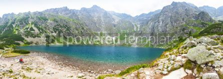 Nature: Czarny Staw pod Rysami lake Tatra Mountains Poland #03663