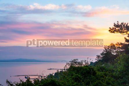 Nature: Sunrise over the Balaton lake Hungaru #03664