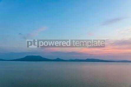 Nature: Sunrise over the Balaton lake Hungaru #03665