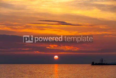 Nature: Sunrise over the Balaton lake Hungaru #03667