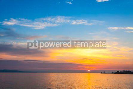 Nature: Sunrise over the Balaton lake Hungaru #03668