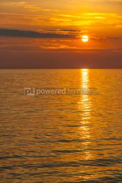 Nature: Sunrise over the Balaton lake Hungaru #03670