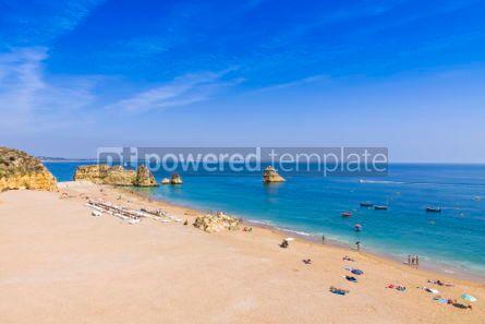 Nature: Praia da Dona Ana beach in Lagos Algarve region Portugal #03676