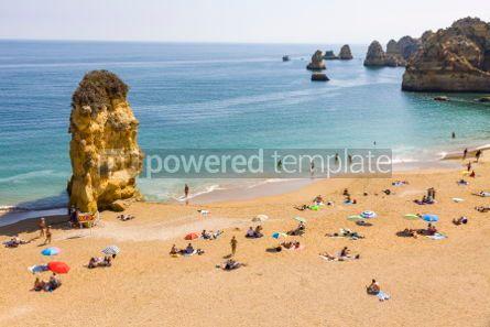 Nature: Praia da Dona Ana beach in Lagos Algarve region Portugal #03679