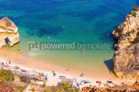 Nature: Praia do Camilo beach in Lagos Algarve region Portugal #03685
