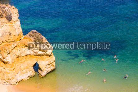 Nature: Praia do Camilo beach in Lagos Algarve region Portugal #03686