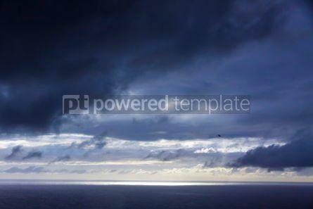 Nature: Dramatic sky over Atlantic Ocean coast near Sao Miguel Island A #03687