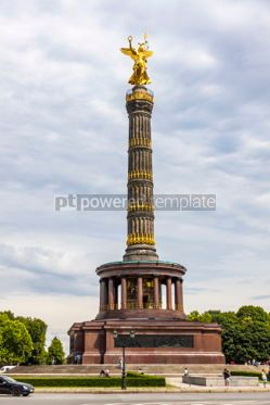Architecture : Victory Column (Siegessaeule) in Berlin Germany #03704