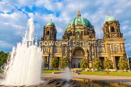 Architecture : Berlin Cathedral (Berliner Dom) in Berlin Germany #03708