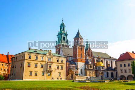 Architecture: Wawel Royal Castle complex in Krakow Poland #03716