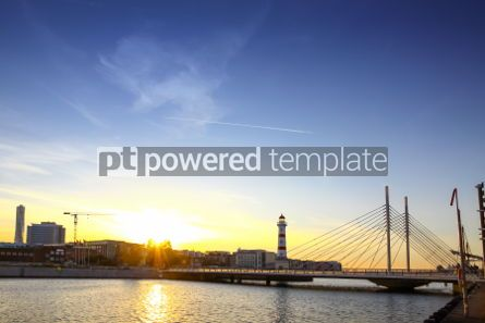 Architecture : Old lighthouse in Oresund strait Malmo city harbor Sweden #03729