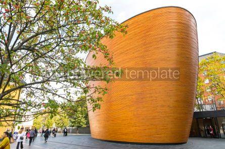 Architecture : Kamppi Chapel (Chapel of Silence) in Helsinki Finland #03738